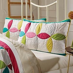 vhc brands, bedding, coastal, home decor, 3 coast way, three coast way, standard sham, king sham