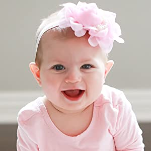 Baby Girl in Pink