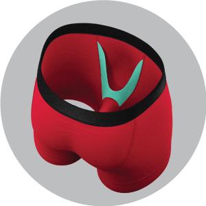 Inside Ball Hammock Pouch Underwear for men