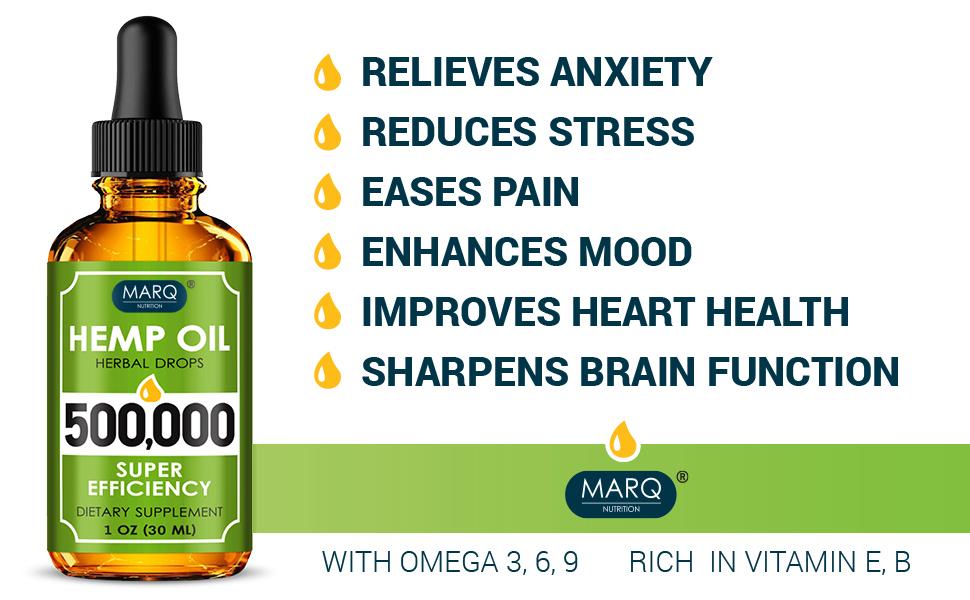 Hemp oil, oil for stress, oil for pain relief
