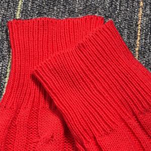 rib knit sweater top