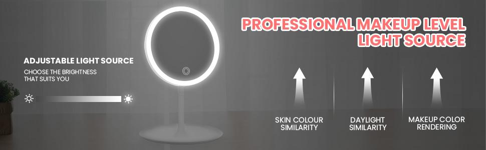 pofessinal makeup light