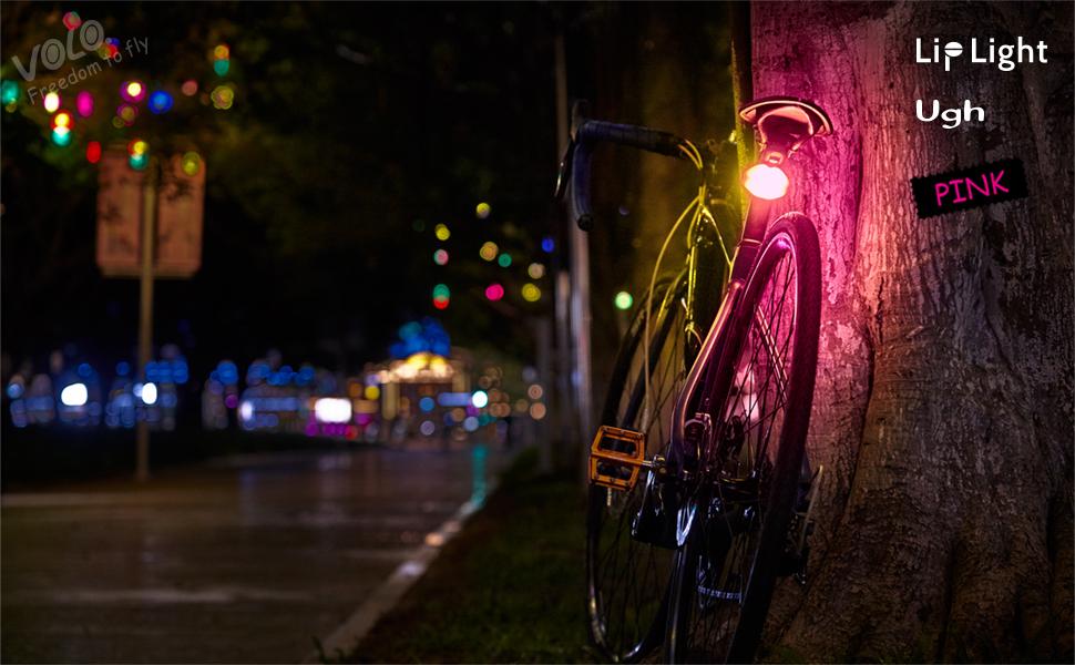 funny bike light