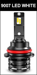 9007 HB5 Led Headlight Bulb/Led Fog Light/DRL
