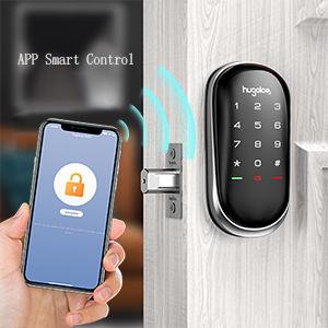 keyless entry door smart touchscreen lock