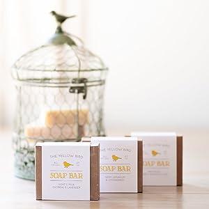 the yellow bird handmade soap