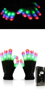 led gloves for children