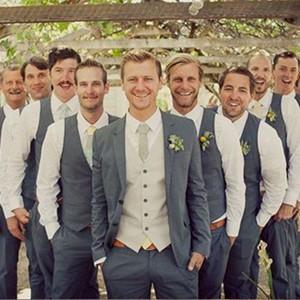 Men's wedding suit vest