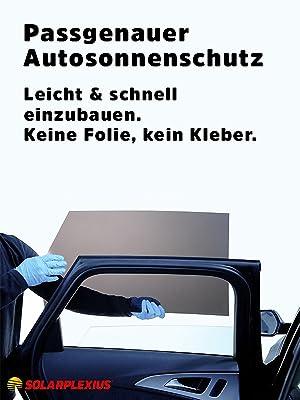 Solarplexius Sonnenschutz Autosonnenschutz Scheibentönung Sonnenschutzfolie 3 Türer Opel Corsa D Bj 06 14 Auto