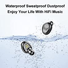 waterproof sweat proof headphone