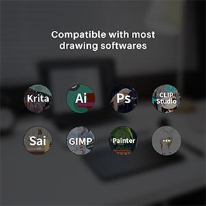 xp pen xp-pen g64 drawing tablet wacom tablet osu tablet writing tablet drawing pad for computer