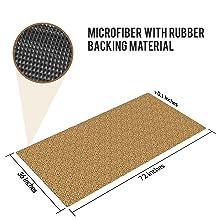 floor mat with rubber backing and microfiber ultra thin door mat circle design blue kitchen rug mat