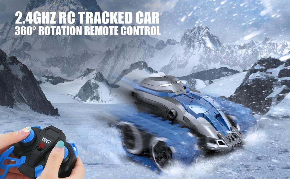 Remote Control Tracked Car