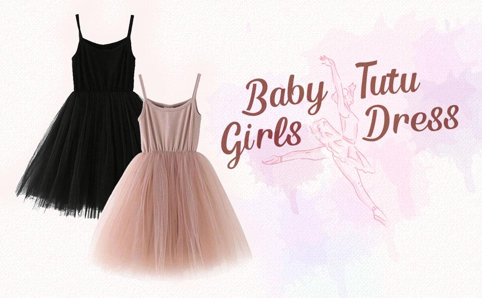 Baby Girls Tutu Dress Sleeveless