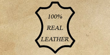 100% Genuine Real Leather
