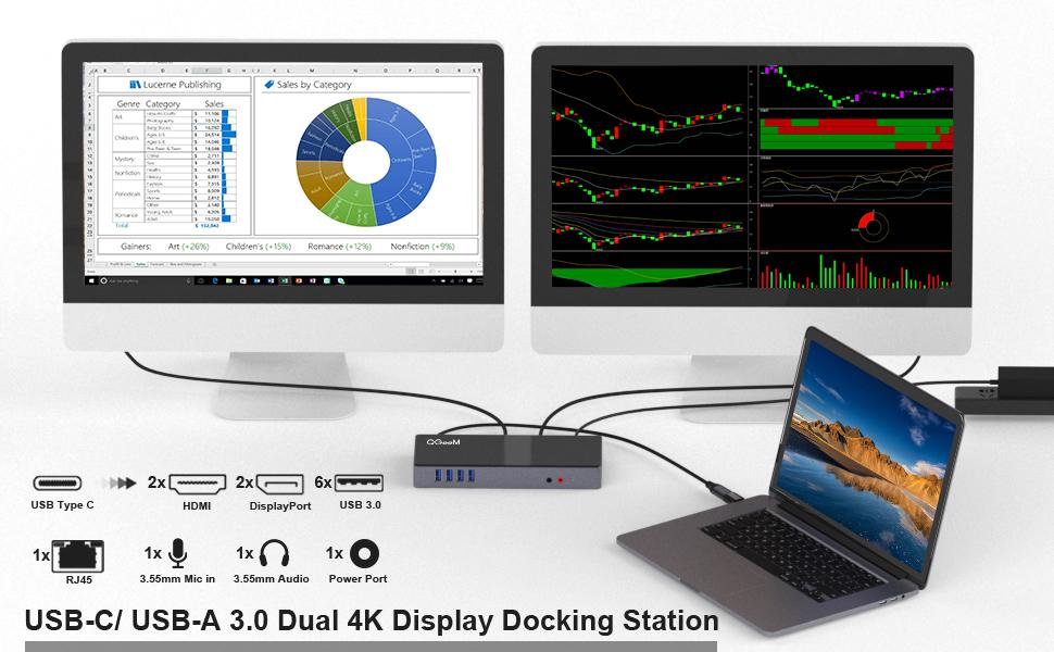 usb c docking station