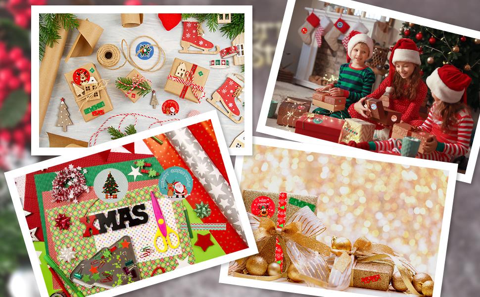 Holiday Sample Lengths Washi Tape Christmas Eve