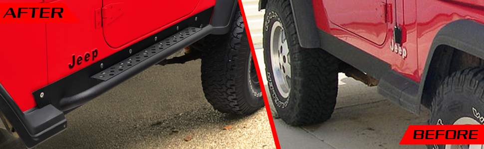 MORE OFFROAD SIDE STEP ROCK GUARD