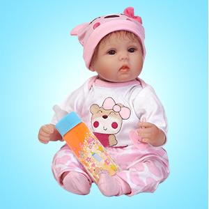 cute baby doll bottles