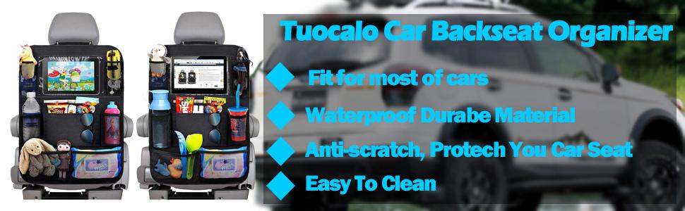 Tuocalo Car Backseat Organizer