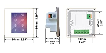 Wall amplifier in small size