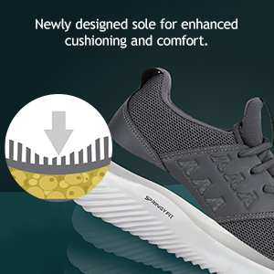Newly Designed Sole For Enhanced Cushioning Ad Comfort