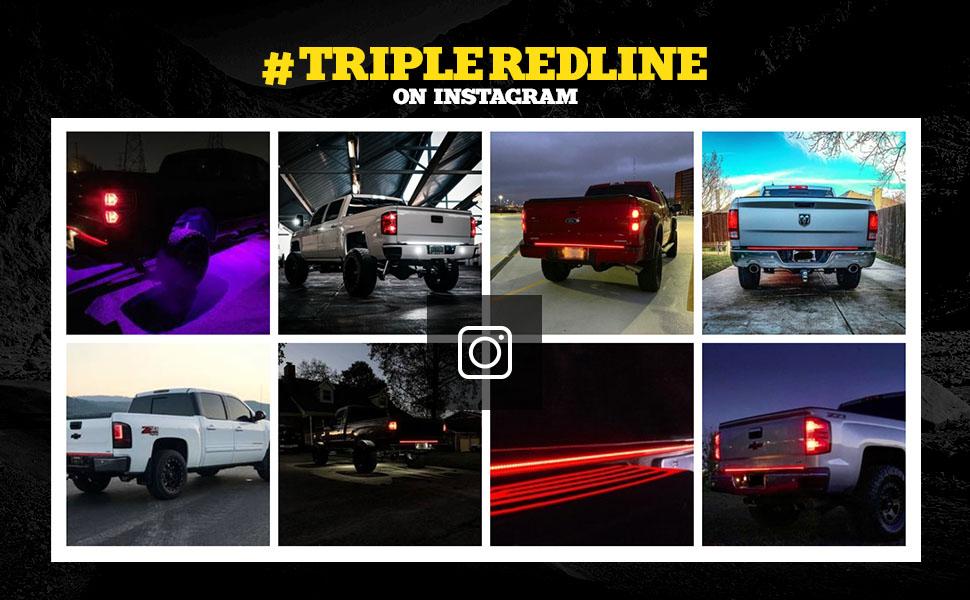 Triple Tailgate LED Strip