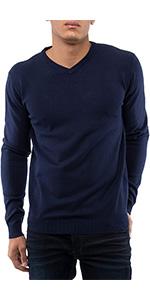 Men's Sweater V-Neck