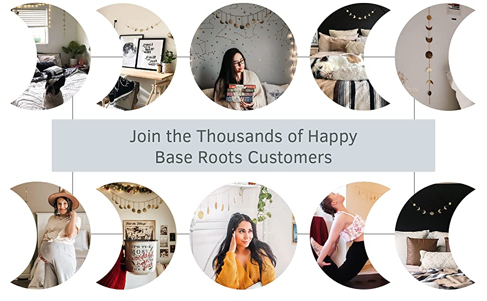 Join the Thousands of Happy Base Roots Customers