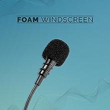 Foam windscreen