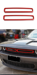 Voodonala Front Grille Inserts for 2015-2020 Dodge Challenger