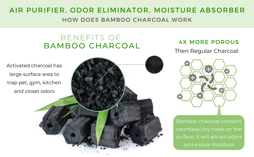 activated natural bamboo charcoal air freshener purifier bag porous eliminator absorber absorb odor