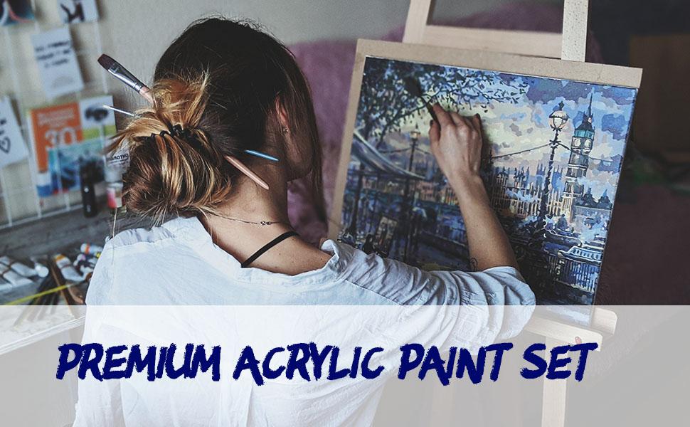 premium acrylic