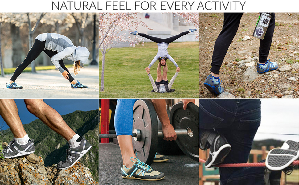 Natural Feel for Every Activity