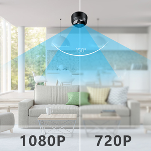 HD 1080P & 150° Wide Angle