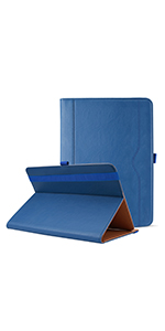 Stand Folio Case Protective Cover - Navy