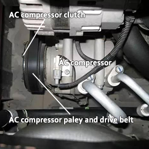 AUTOMUTO A//C compressor fit for Toyota Tacoma T100 2.4L 2.7L 94 95 96 97 98 99 00 01 02 03 04 Compatible with CO 21009C Auto Repair Compressors Assembly