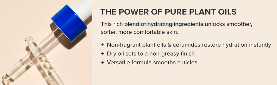 Restores skin's hydration with non-fragrant plant oils, making the skin smooth and glowing.