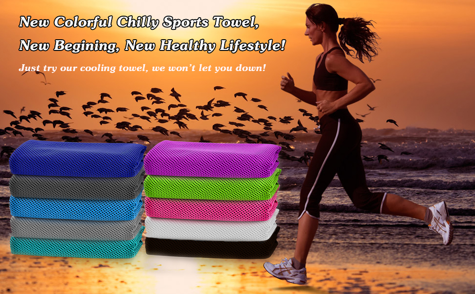New Cooling Towel For New Healthy Lifestyle
