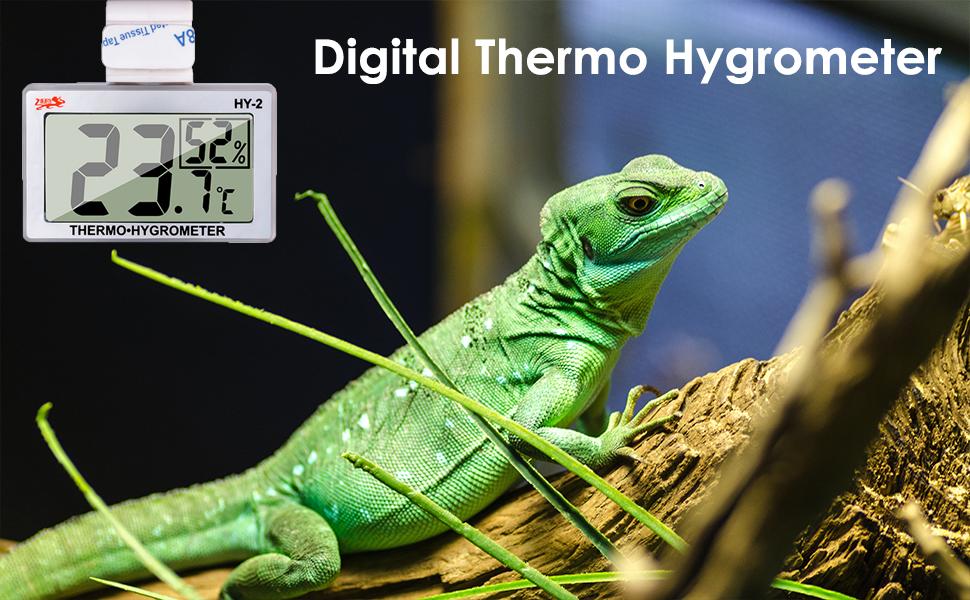 Digital Reptile Thermometer Hygrometer