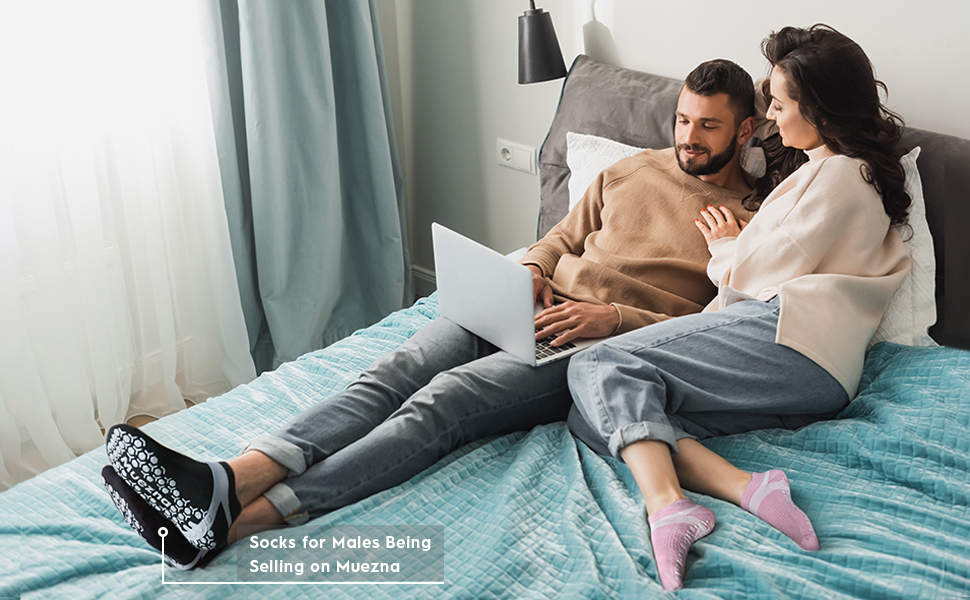 Two People on Bed