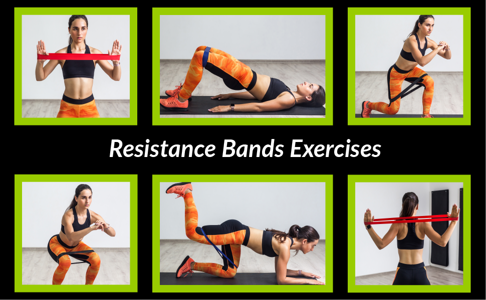 Resistance Bands mini loop bands exercises