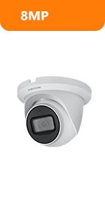 4k 8mp dahua poe ip camera turret surveillance camera starlight outddor security camera
