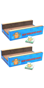 Twin Pack Cat Scratch Bed