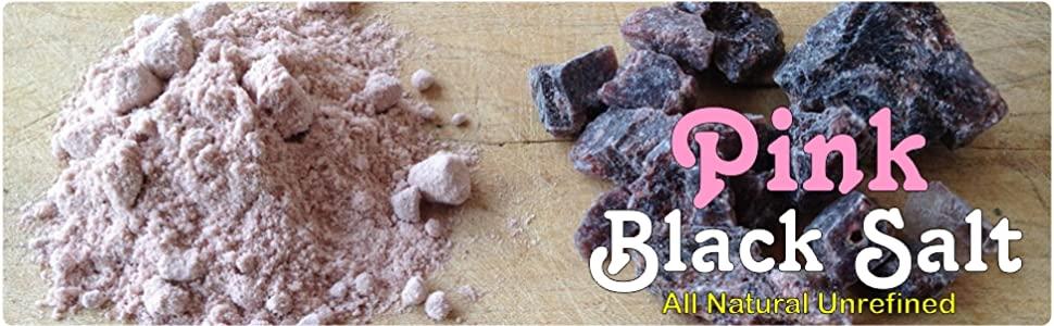 pink black salt