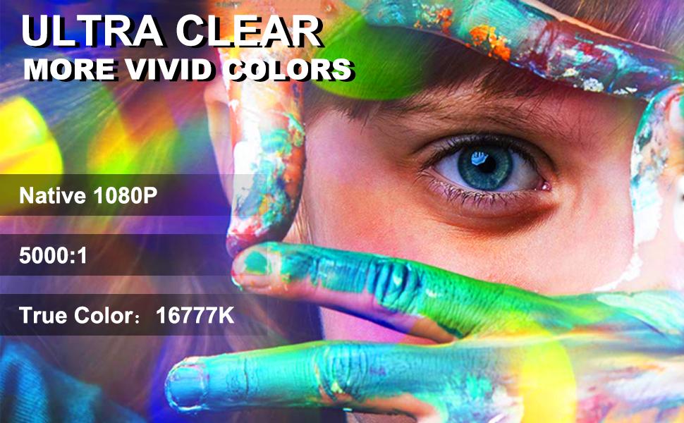 true color 1080p projector