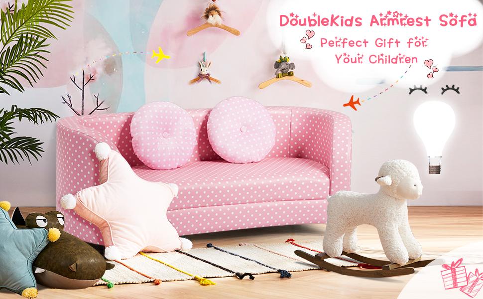 children's sofa 2 seat