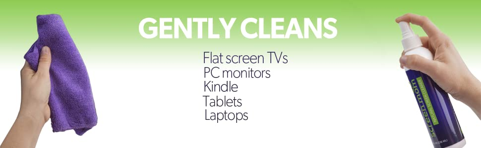 Screen Cleaner, Computer Monitor cleaner, Laptop screen cleaner, iPad screen cleaner, LED LCD clean