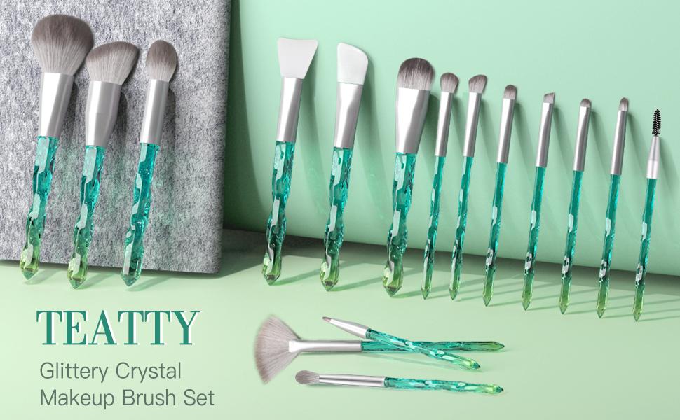 makeup brush makeup brushes set Crystal makeup brushes 16  makeup brushes set