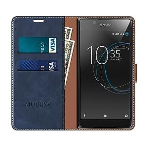 MOBESV Funda para Sony Xperia L1, Funda Libro Sony Xperia L1 ...